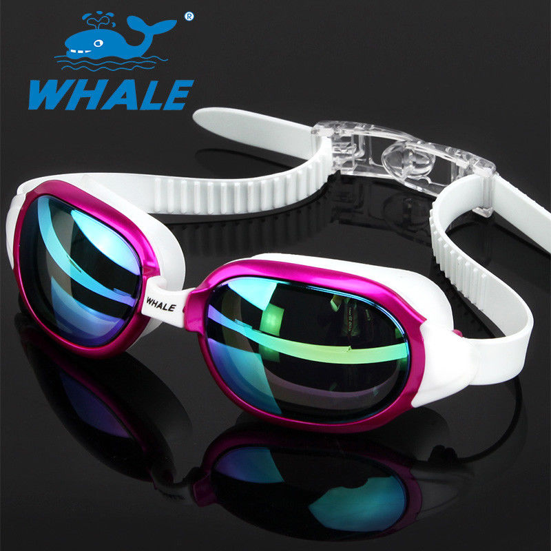 Anti-Shatter Crystal Clear Comfortable Swimming Goggles / Adult Swim Goggles