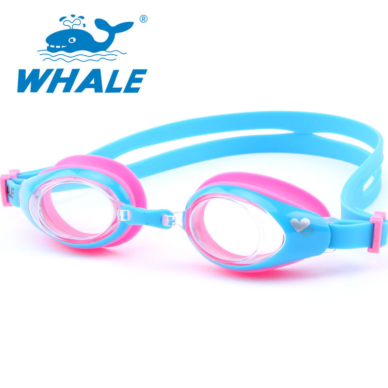 UV Lens Kids Swimming Goggles Clear View High Definition With Silicone Strap